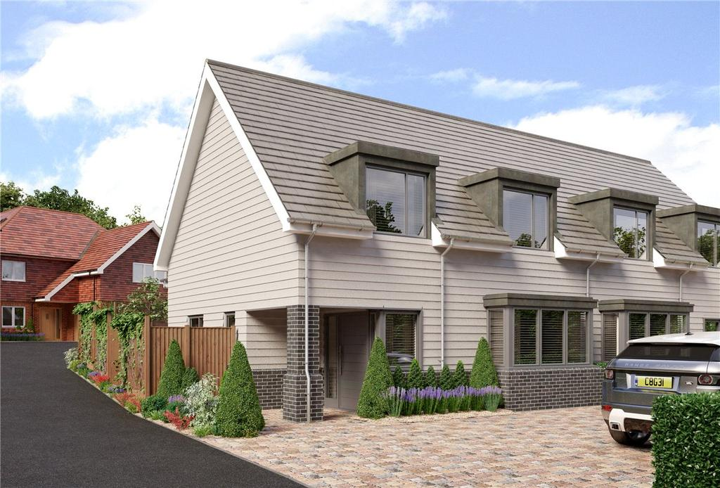 3 Bedrooms Semi Detached House for sale in Longwood Close, Winchester, Hampshire, SO22