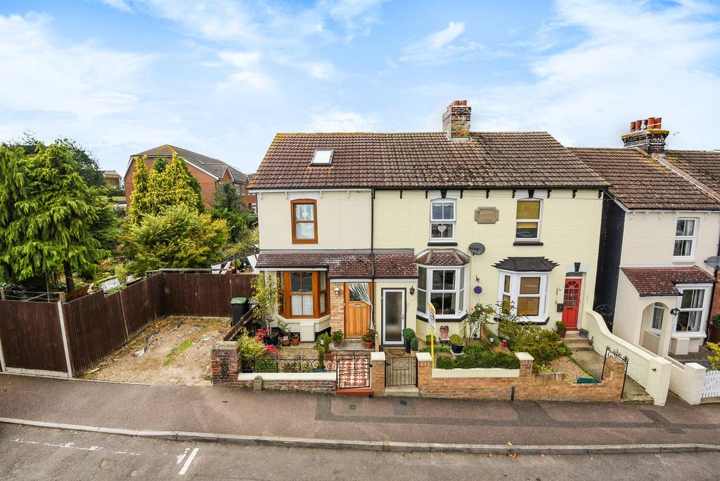 2 Bedrooms Terraced House for sale in Recreation Avenue, Snodland