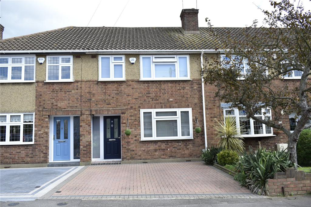 3 Bedrooms Terraced House for sale in Glenton Close, Romford, RM1