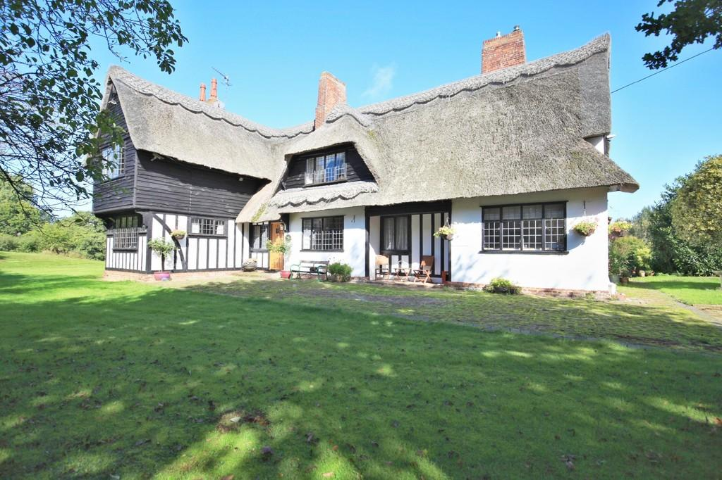 4 Bedrooms Cottage House for sale in Lavenham Road, Brent Eleigh, Sudbury, CO10 9PB