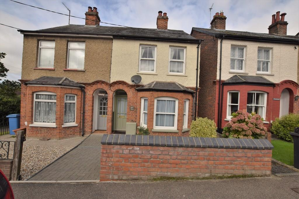 3 Bedrooms Semi Detached House for sale in Belle Vue Road, Sudbury, CO10 2PP
