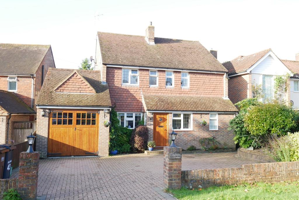 4 Bedrooms Detached House for sale in Upper Kings Drive, Willingdon Village, Eastbourne, BN20