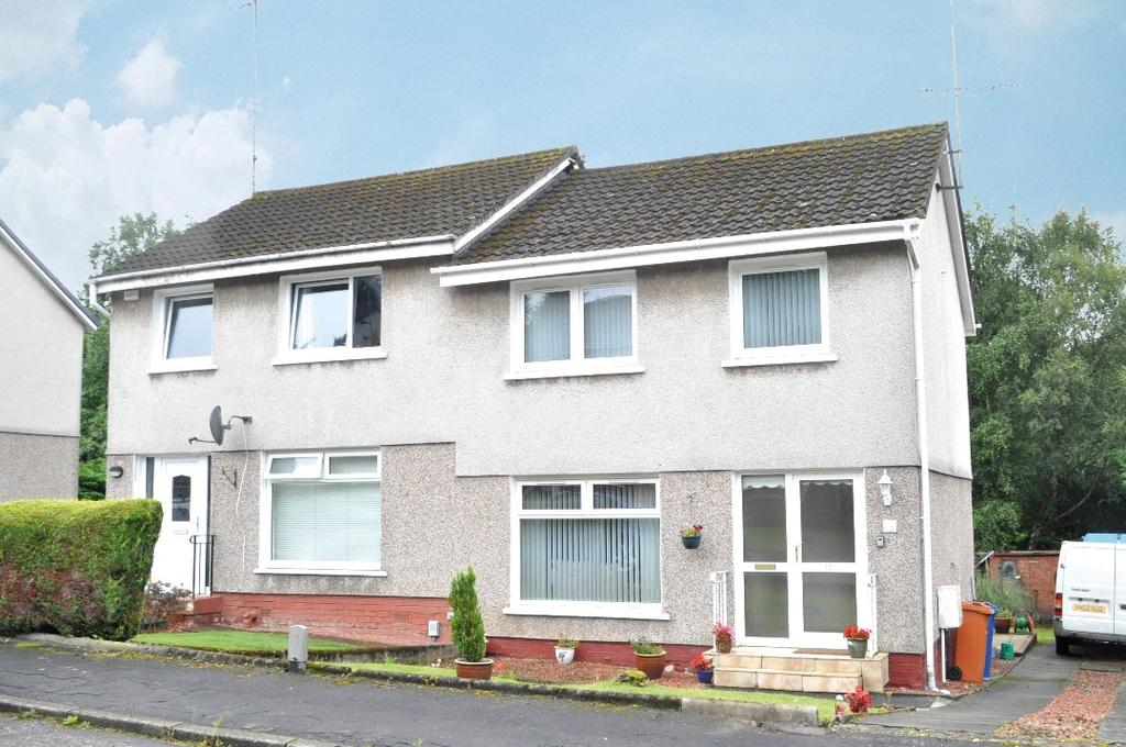 3 Bedrooms Semi Detached House for sale in Annick Drive, Bearsden, Glasgow, G61 1HH
