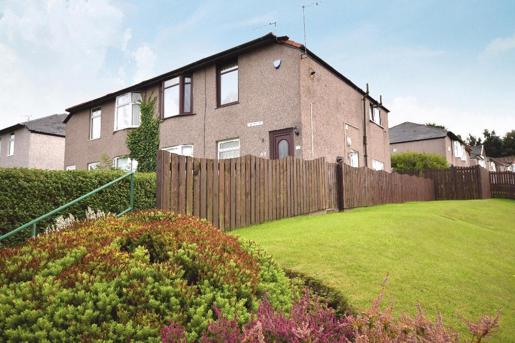 2 Bedrooms Flat for sale in Fintry Drive, Kings Park , Glasgow, G44 4QA