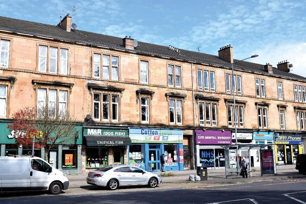 3 Bedrooms Flat for sale in Paisley Road West , Flat 1/2, Ibrox, Glasgow, G51 1PX