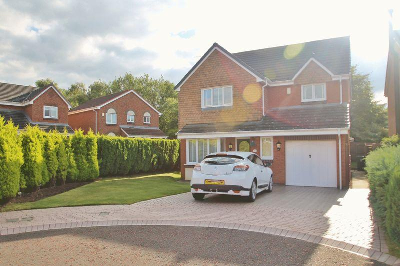4 Bedrooms Detached House for sale in Lockton Close, Hemlington