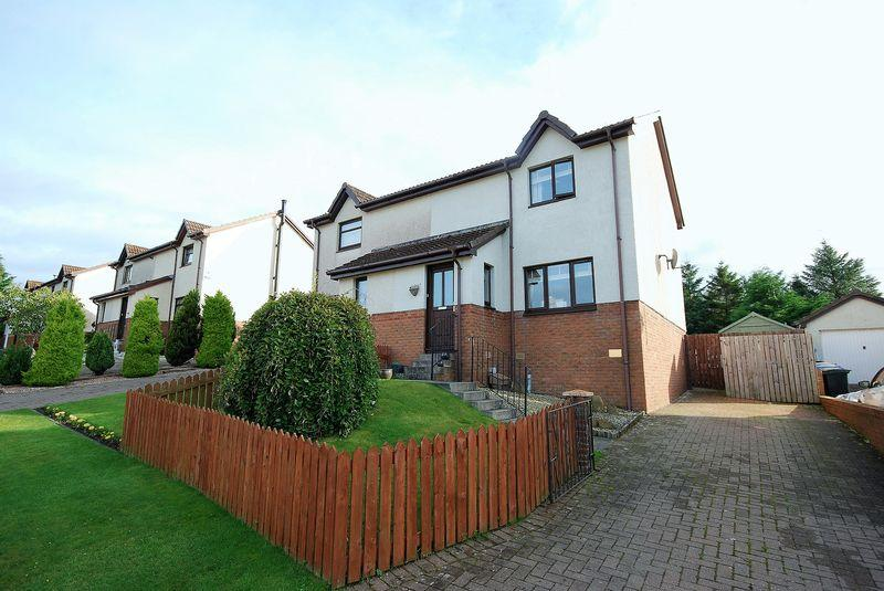 2 Bedrooms Semi-detached Villa House for sale in 15 Hodge Crescent, Drongan, KA6 7EH