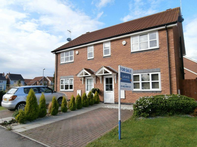 3 Bedrooms Semi Detached House for sale in Robson Way, Hedon