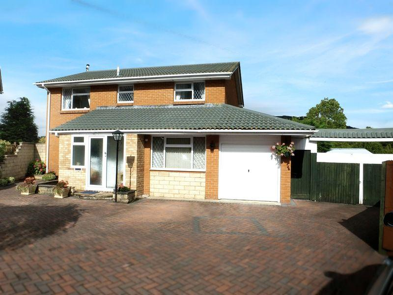 4 Bedrooms Detached House for sale in Greystones , Abergavenny