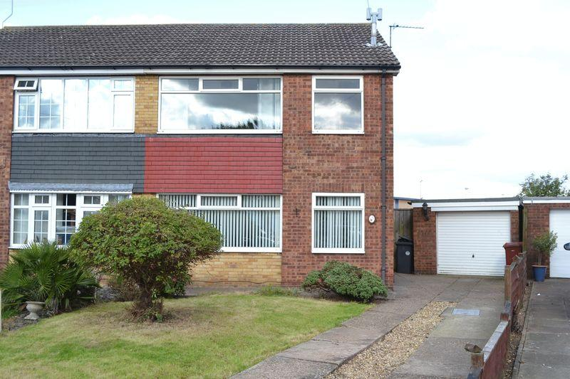 3 Bedrooms Semi Detached House for sale in Caistor Avenue, Bottesford