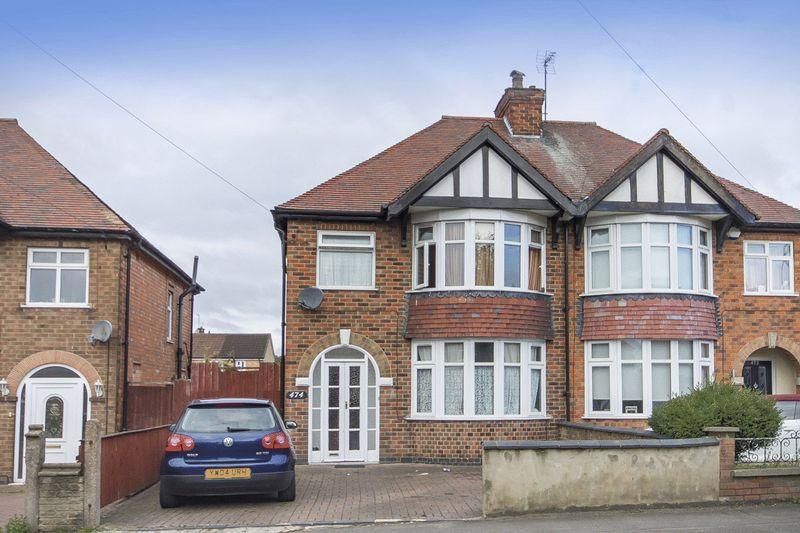 3 Bedrooms Semi Detached House for sale in STENSON ROAD, DERBY.