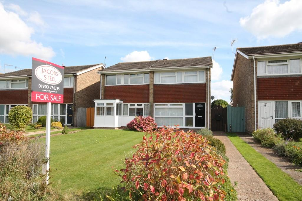 2 Bedrooms Semi Detached House for sale in Western Road, Sompting, BN15