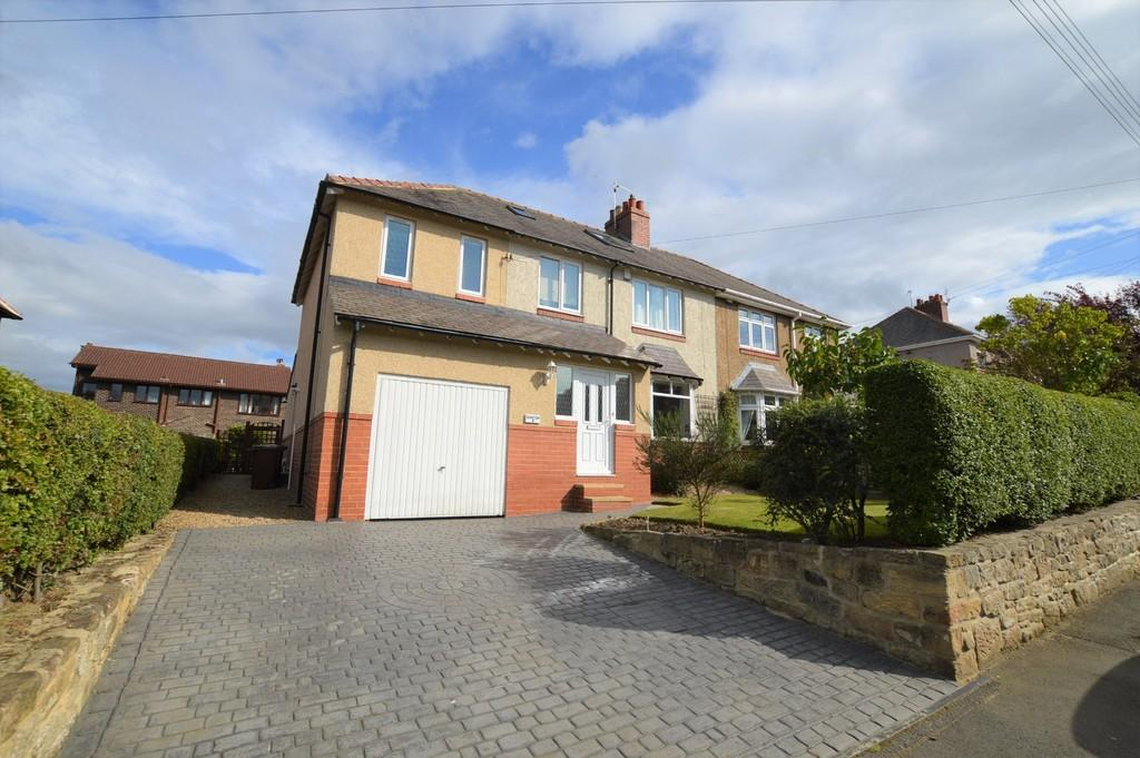 5 Bedrooms Semi Detached House for sale in Moor Road, Prudhoe