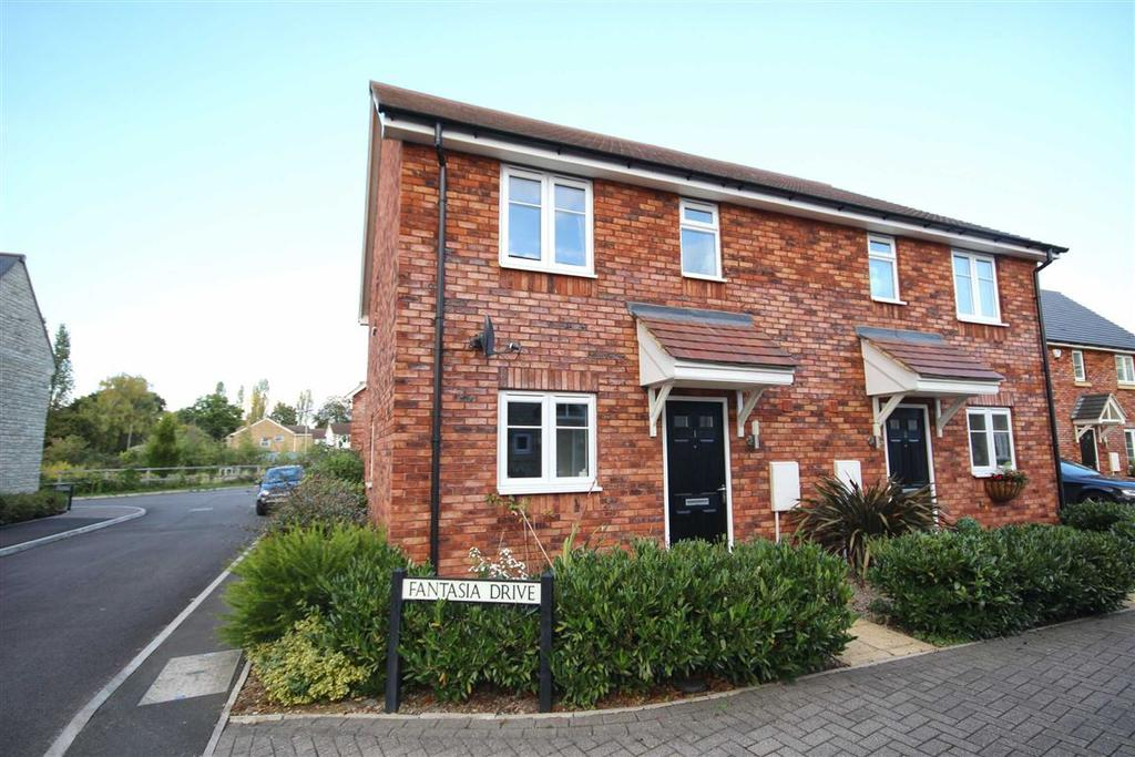 3 Bedrooms Semi Detached House for sale in Fantasia Drive, Badgeworth, Cheltenham, GL51