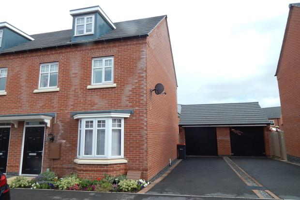 3 Bedrooms Semi Detached House for sale in Latin Grove, Hucknall, Nottingham, NG15