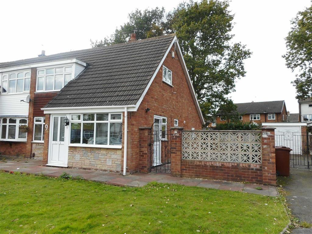 2 Bedrooms Semi Detached Bungalow for sale in Almond Close, Pelsall, Walsall