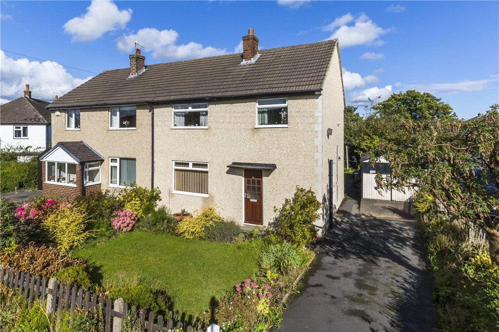 3 Bedrooms Semi Detached House for sale in Midgley Road, Burley in Wharfedale, Ilkley, West Yorkshire