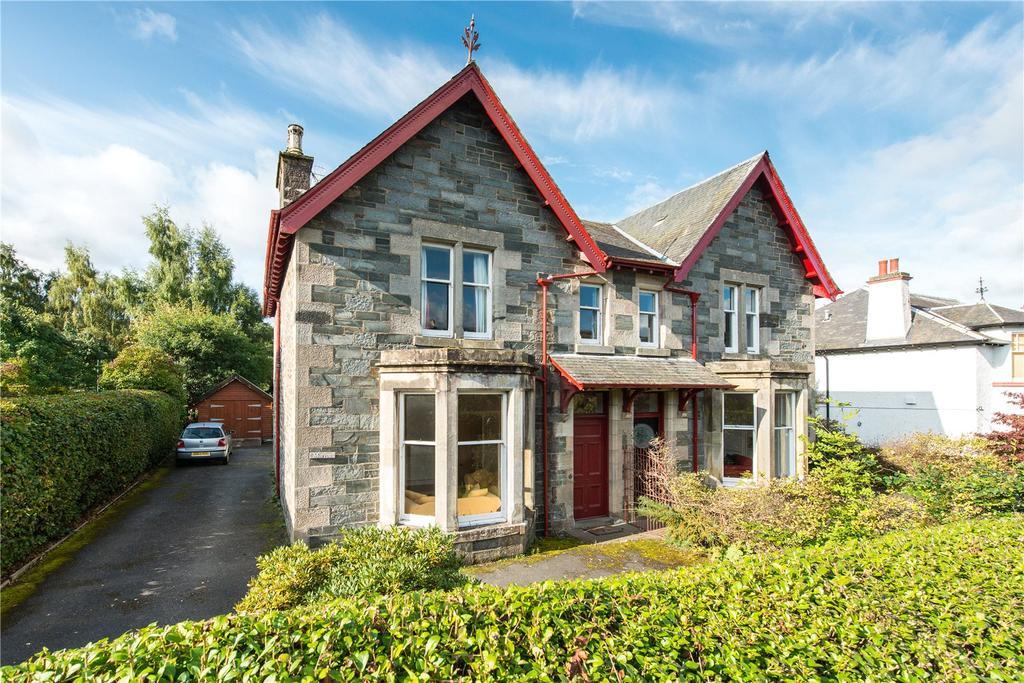 3 Bedrooms Semi Detached House for sale in Morven, Taybridge Road, Aberfeldy, Perthshire