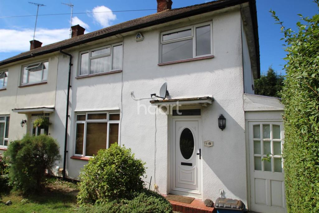 3 Bedrooms End Of Terrace House for sale in Stangate Crescent, Borehamwood