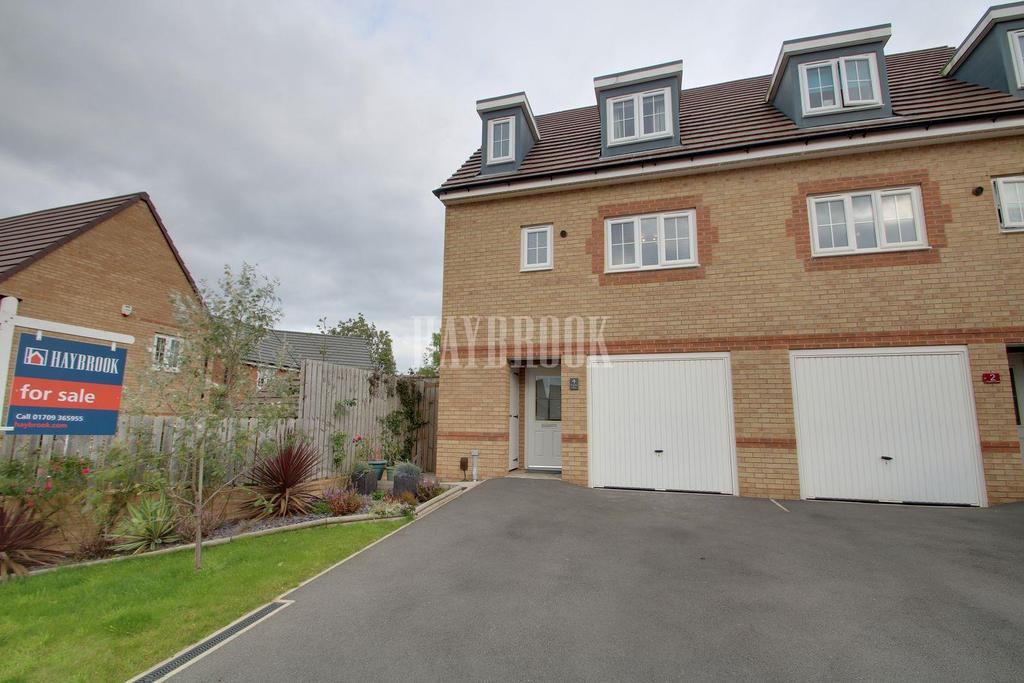 3 Bedrooms Semi Detached House for sale in Kingdom Close, Thurcroft