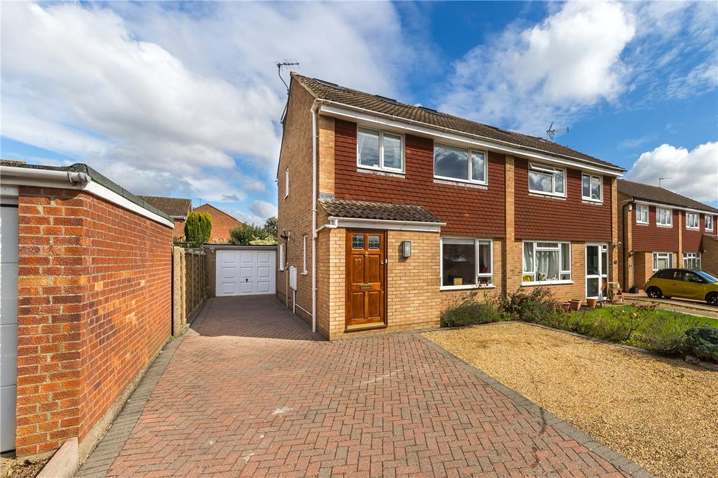 4 Bedrooms Semi Detached House for sale in Alzey Gardens, Harpenden, Hertfordshire