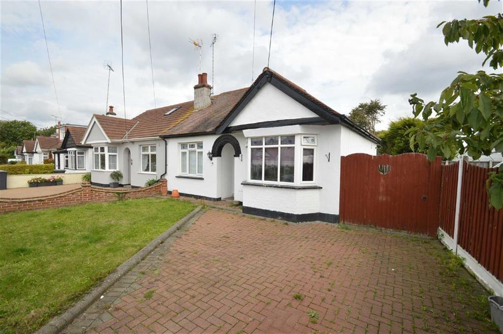 2 Bedrooms Semi Detached Bungalow for sale in Sweyne Avenue, Hawkwell, Essex