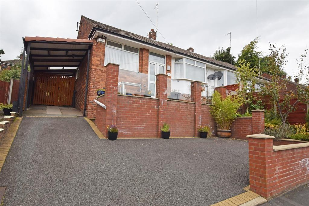 2 Bedrooms Semi Detached Bungalow for sale in Coulsden Drive, Blackley, Manchester