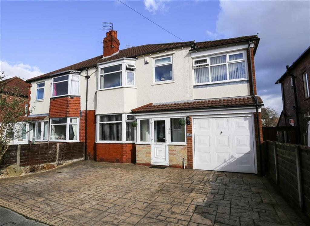 4 Bedrooms Semi Detached House for sale in Babbacombe Road, Offerton, Stockport