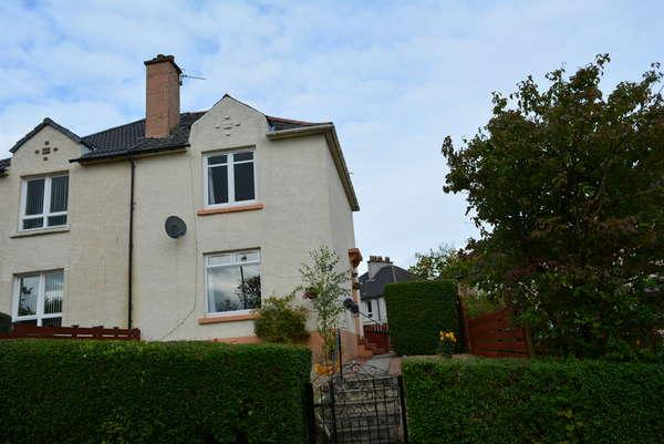 2 Bedrooms Semi-detached Villa House for sale in 44 Mosspark Avenue, Mosspark, Glasgow, G52 1LQ