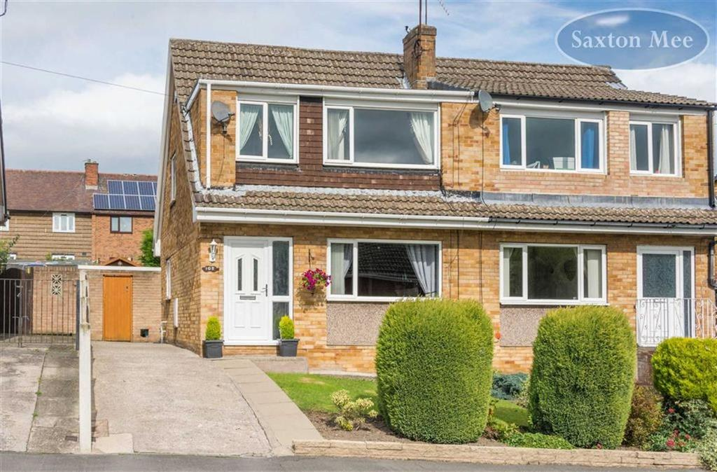 3 Bedrooms Semi Detached House for sale in Charlton Drive, High Green, Sheffield, S35