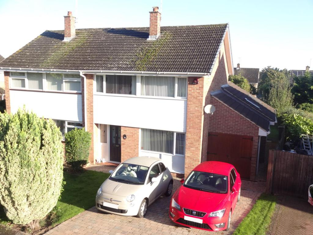 3 Bedrooms Semi Detached House for sale in Musters Road, Bingham, Nottingham