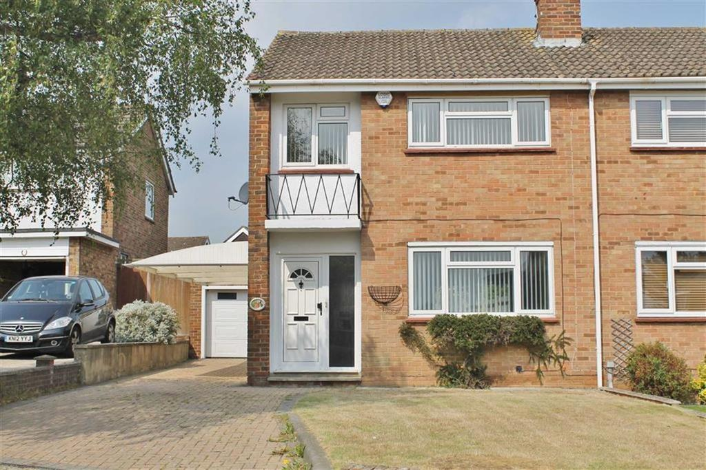 3 Bedrooms Semi Detached House for sale in Tradescent Drive, Meopham