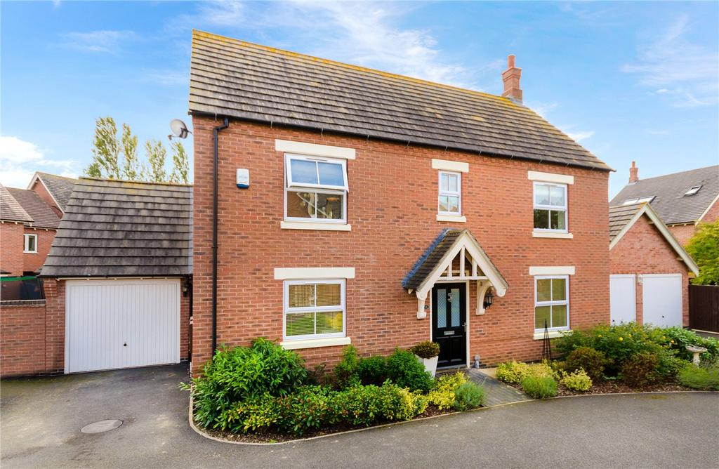 4 Bedrooms Detached House for sale in Glengarry Way, Greylees, Sleaford, Lincolnshire, NG34