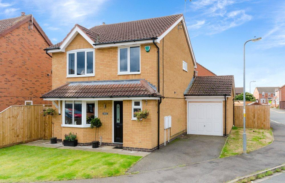 3 Bedrooms Detached House for sale in Foxley Court, Bourne, PE10