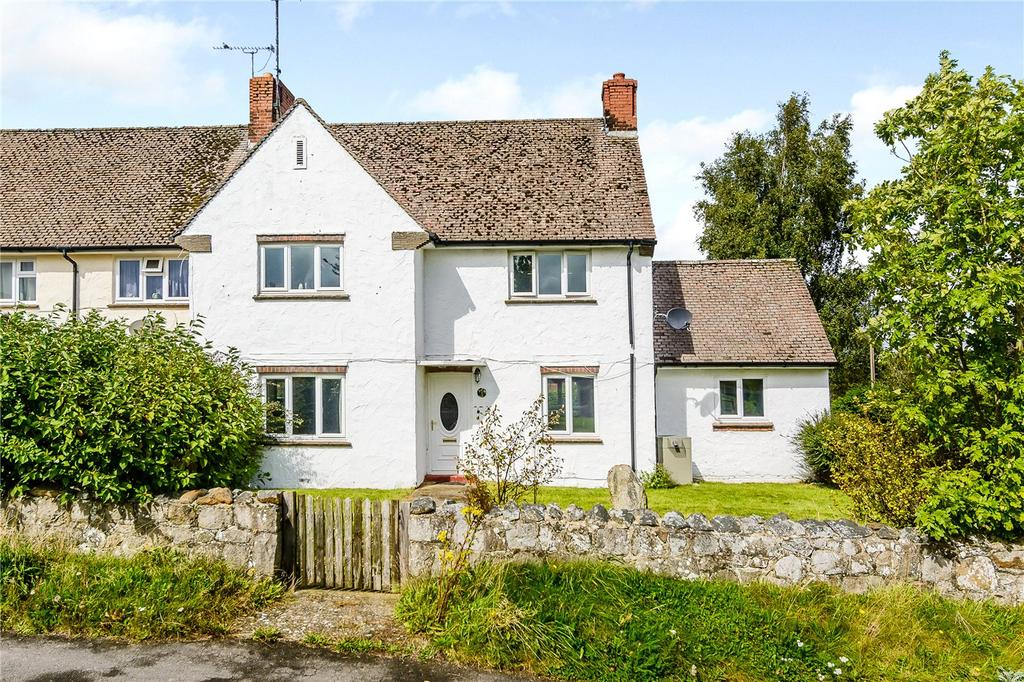 3 Bedrooms End Of Terrace House for sale in Knight's Close, West Overton, Marlborough, Wiltshire, SN8
