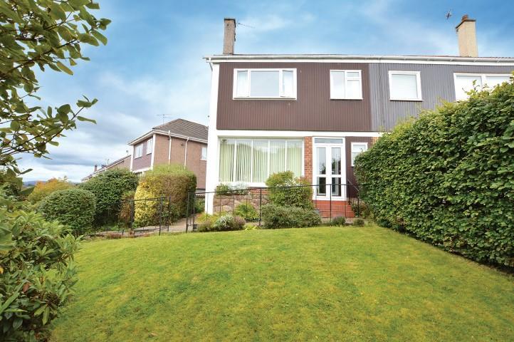 4 Bedrooms Semi Detached House for sale in 89 Iain Road, Bearsden, G61 4JA