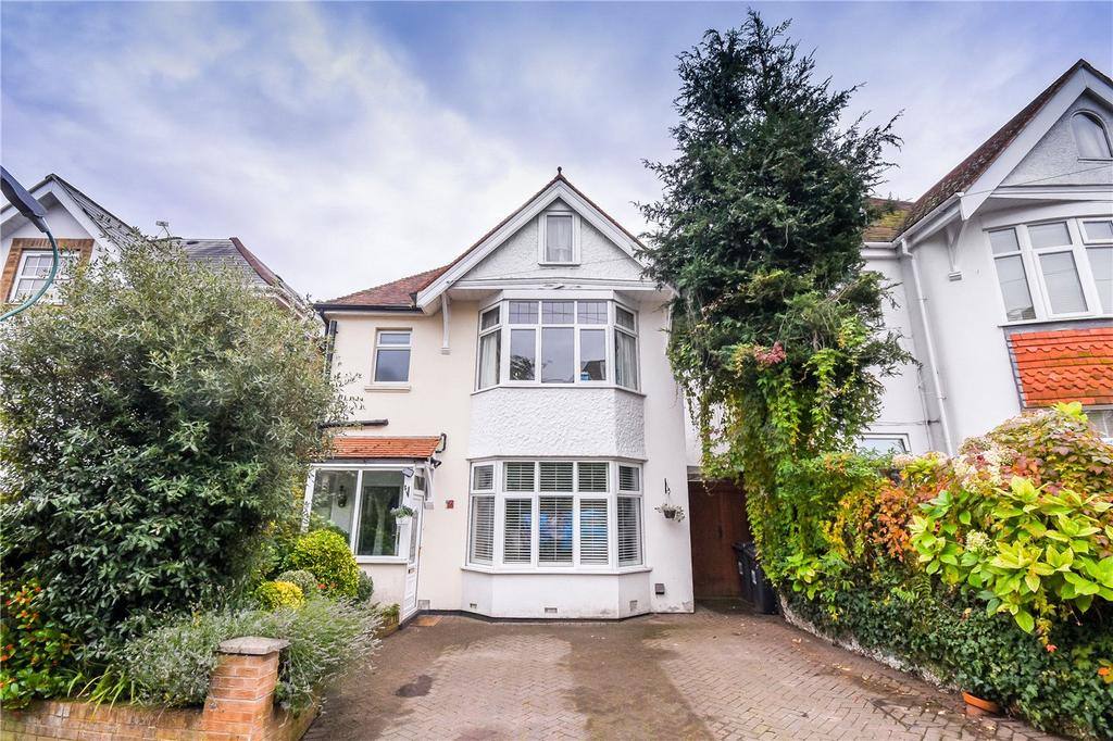 5 Bedrooms Detached House for sale in Alumdale Road, Alum Chine, Bournemouth, Dorset, BH4