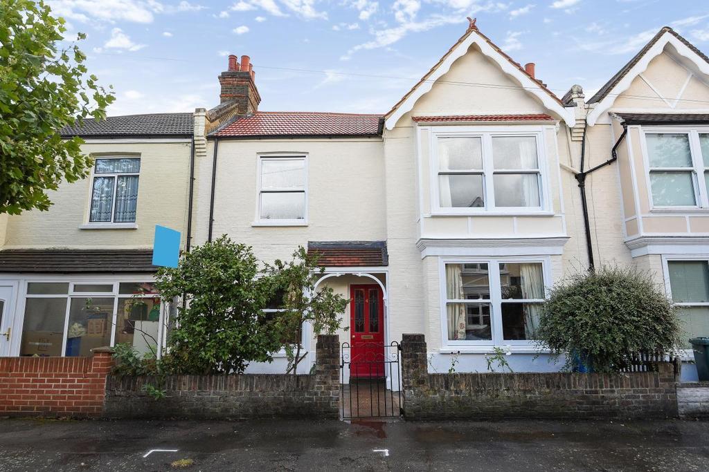 3 Bedrooms Terraced House for sale in Ethelbert Road, West Wimbledon