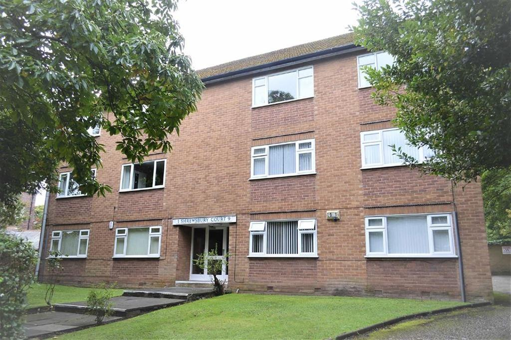 2 Bedrooms Apartment Flat for sale in Shrewsbury Court, Shrewsbury Road, Oxton, CH43
