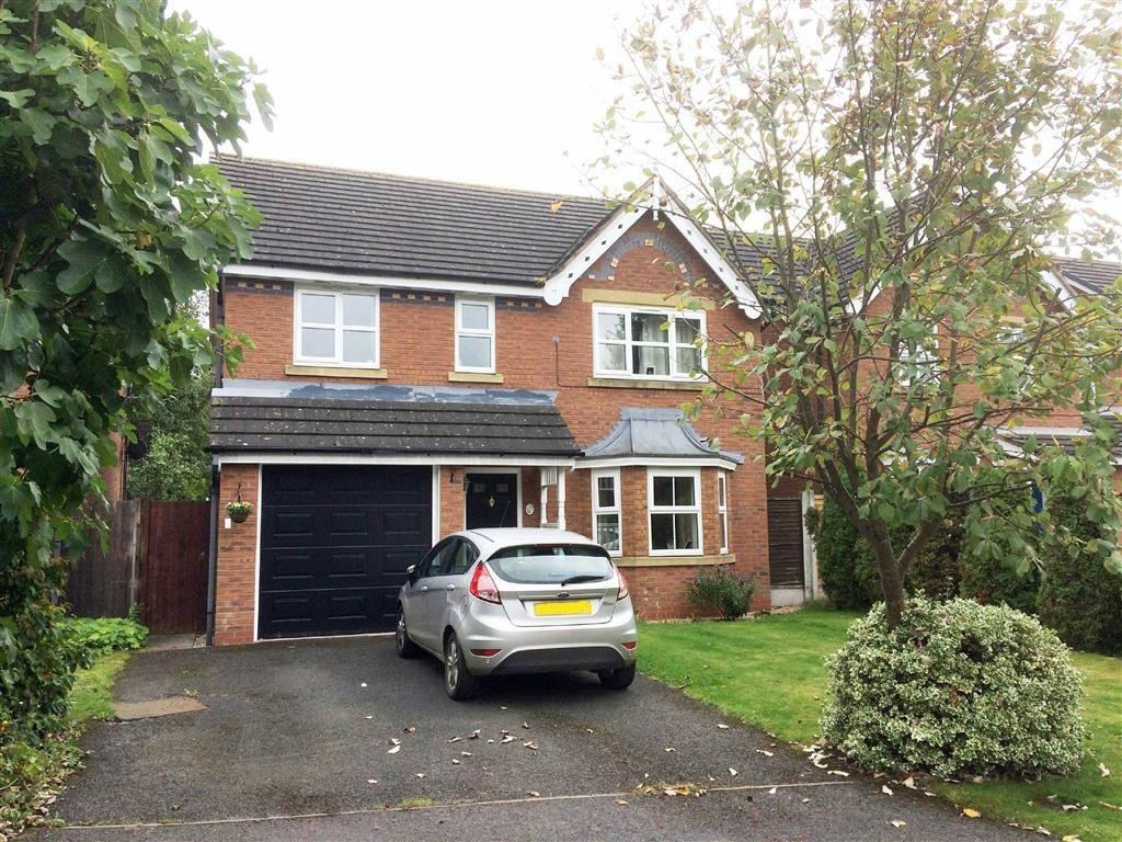 4 Bedrooms Detached House for sale in Cholmondeley Rise, Malpas, SY14