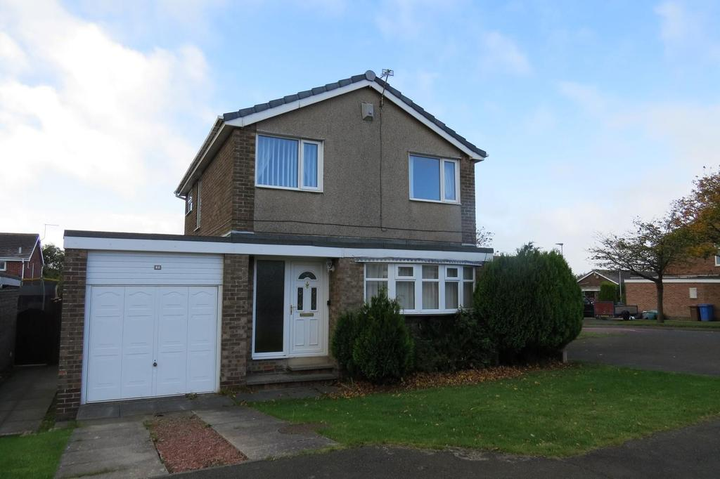 3 Bedrooms Detached House for sale in Rede Court, Ellington, Morpeth