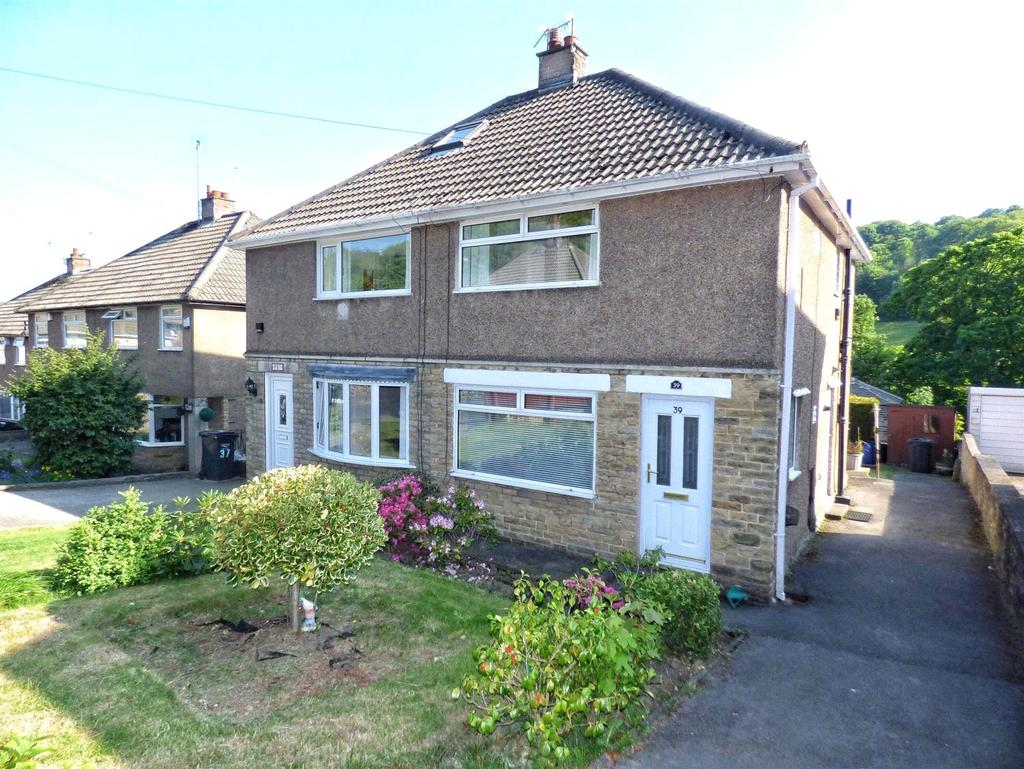 2 Bedrooms Semi Detached House for sale in Meadow Lane, Halifax, West Yorkshire, HX3