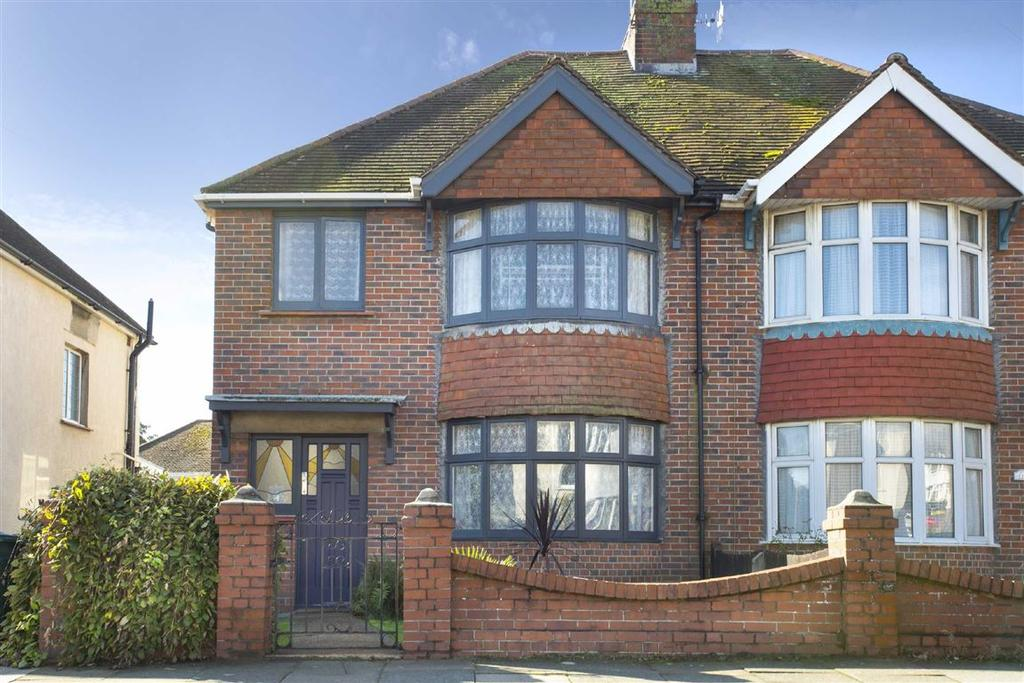 3 Bedrooms Semi Detached House for sale in Melrose Avenue, Portslade