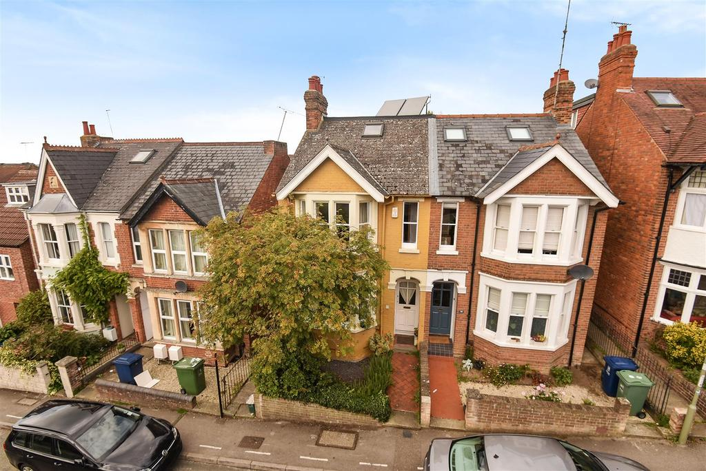4 Bedrooms Semi Detached House for sale in Southfield Road, East Oxford