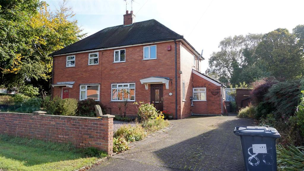 2 Bedrooms Semi Detached House for sale in Clare Avenue, Porthill, Newcastle, Staffs