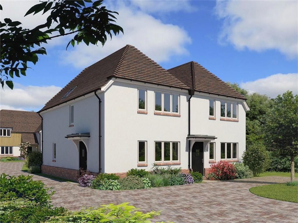 2 Bedrooms Semi Detached House for sale in Winchester Way, Four Marks, Alton, Hampshire