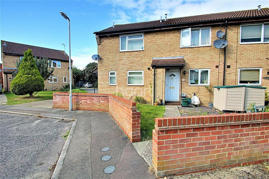 2 Bedrooms Terraced House for sale in Sioux close, Highwoods
