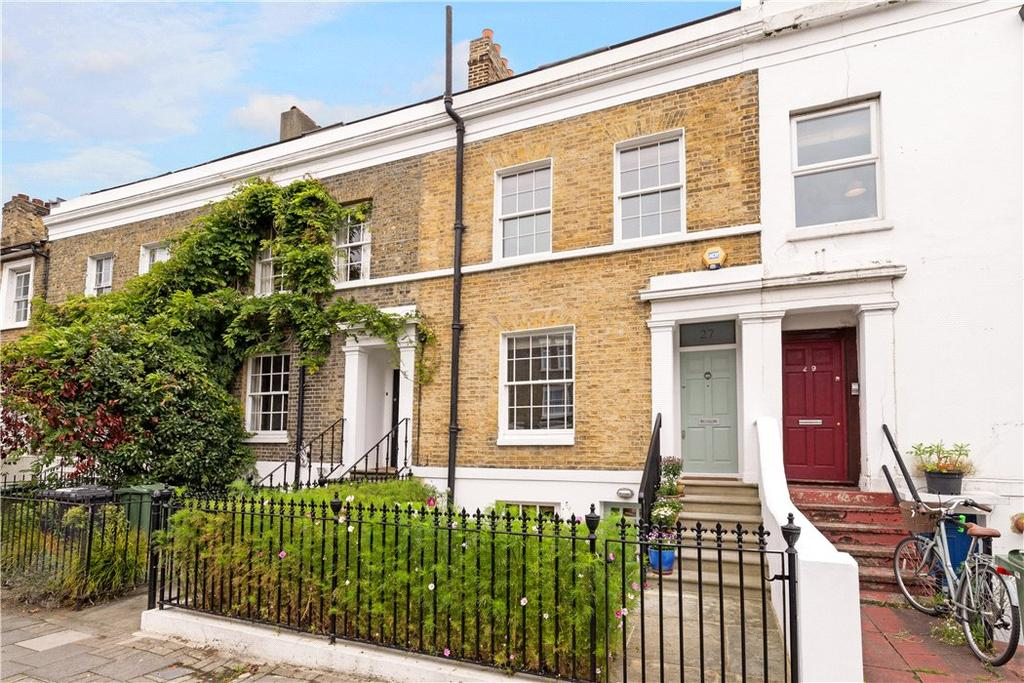 3 Bedrooms Terraced House for sale in Clapham Manor Street, Clapham, London, SW4