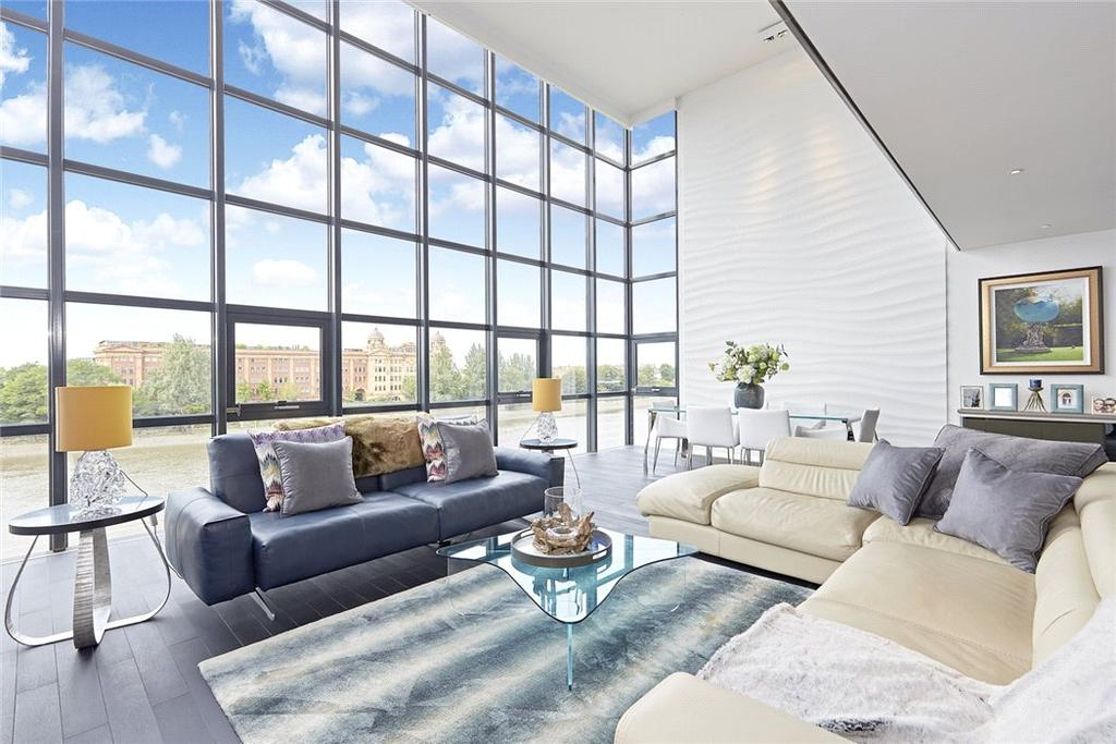 3 Bedrooms Penthouse Flat for sale in Thames Reach, 80 Rainville Road, London, W6
