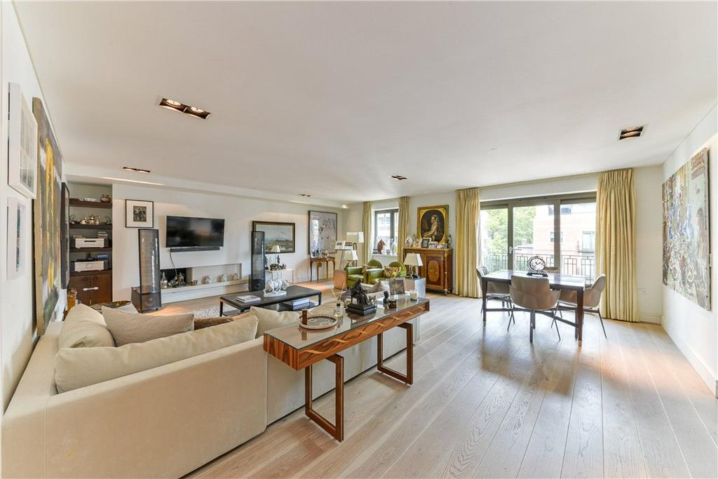 3 Bedrooms Flat for sale in Holly Lodge, Thornwood Gardens, London, W8